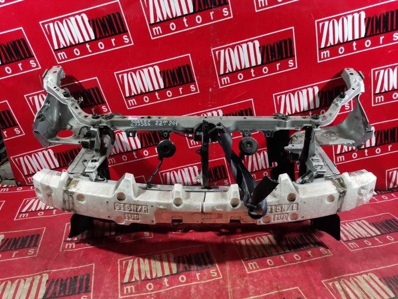 Рамка радиатора Toyota Caldina ZZT241 1ZZ-FE 2002 передняя серебро