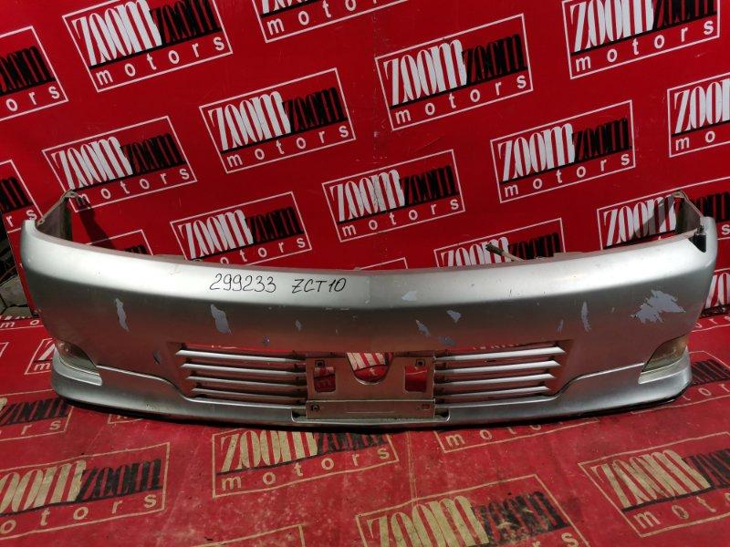 Бампер Toyota Opa ZCT10 1ZZ-FE 2000 передний серебро