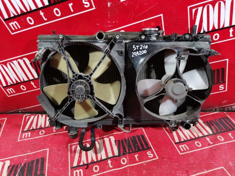 Радиатор двигателя Toyota Corona Premio ST210 3S-FSE 1999 передний