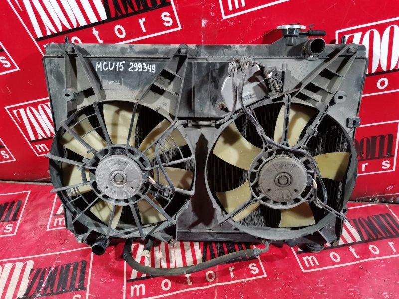 Радиатор двигателя Toyota Harrier MCU15 1MZ-FE 1997 передний