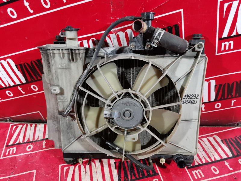 Радиатор двигателя Toyota Ist NCP60 2NZ-FE 2002 передний