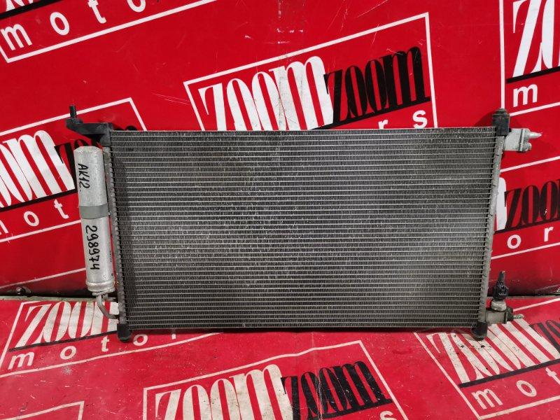 Радиатор кондиционера Nissan March AK12 CR12DE 2003 передний