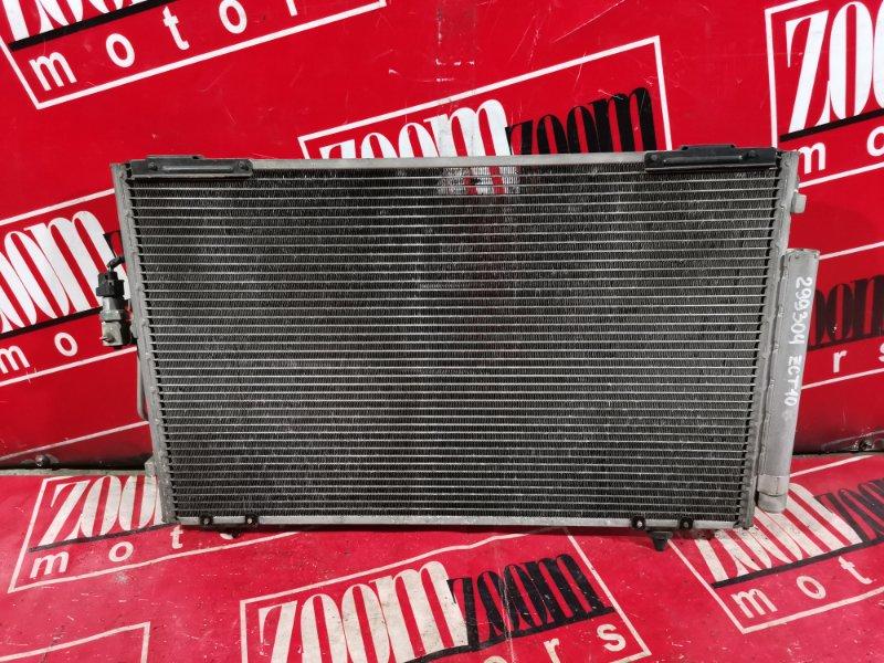 Радиатор кондиционера Toyota Opa ZCT10 1ZZ-FE 2000 передний