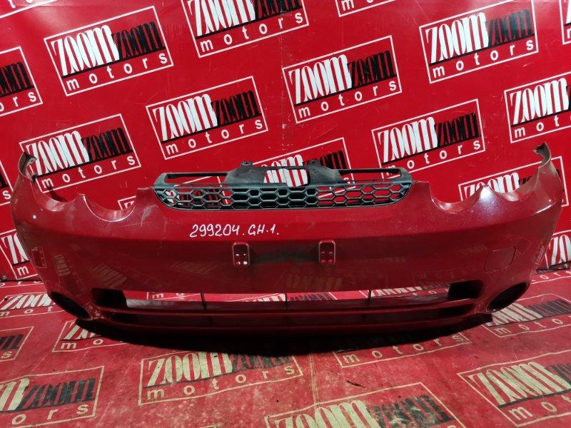 Бампер Honda Hr-V GH1 D16A 2002 передний красный