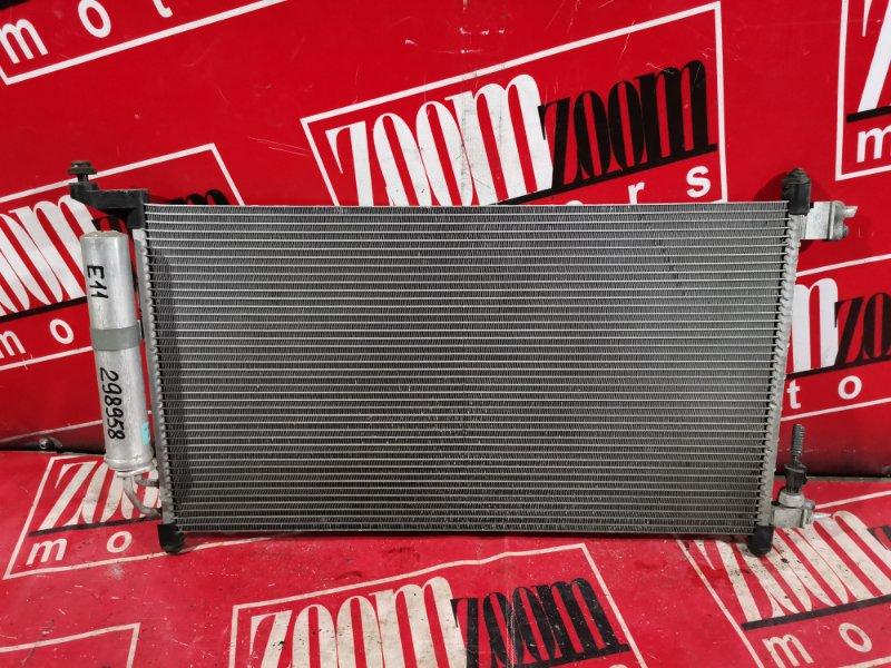 Радиатор кондиционера Nissan Note E11 HR15DE 2008 передний