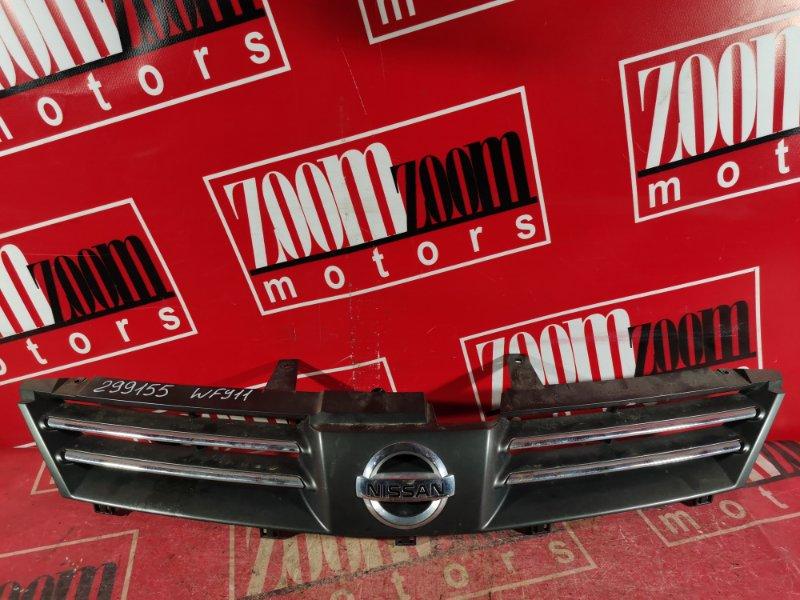 Решетка радиатора Nissan Wingroad WFY11 QG18DE 2003 передняя серебро
