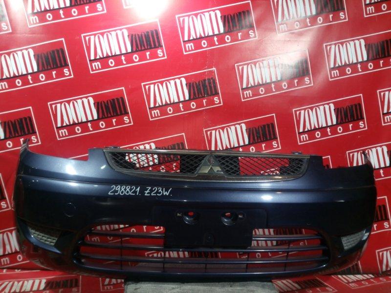 Бампер Mitsubishi Colt Z21W 4A91 2008 передний темно-серый