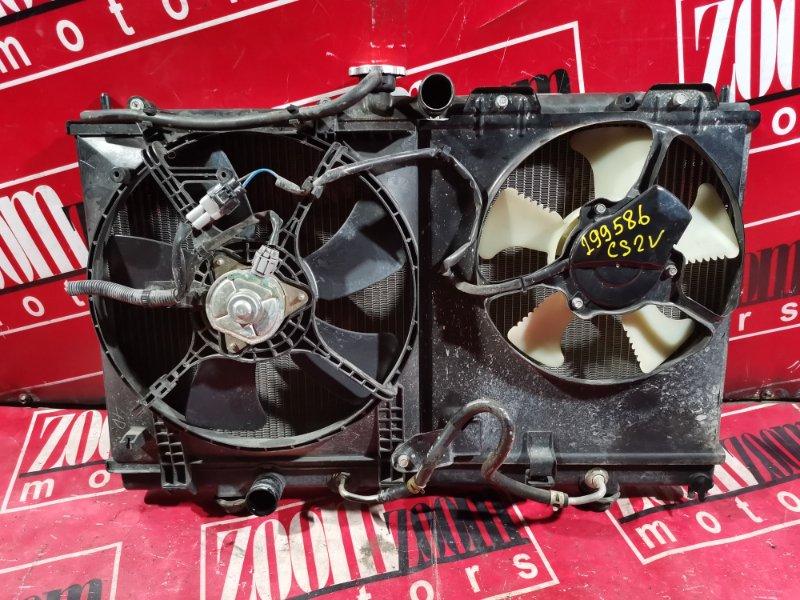 Радиатор двигателя Mitsubishi Lancer Cedia CS2V 4G15 2000 передний