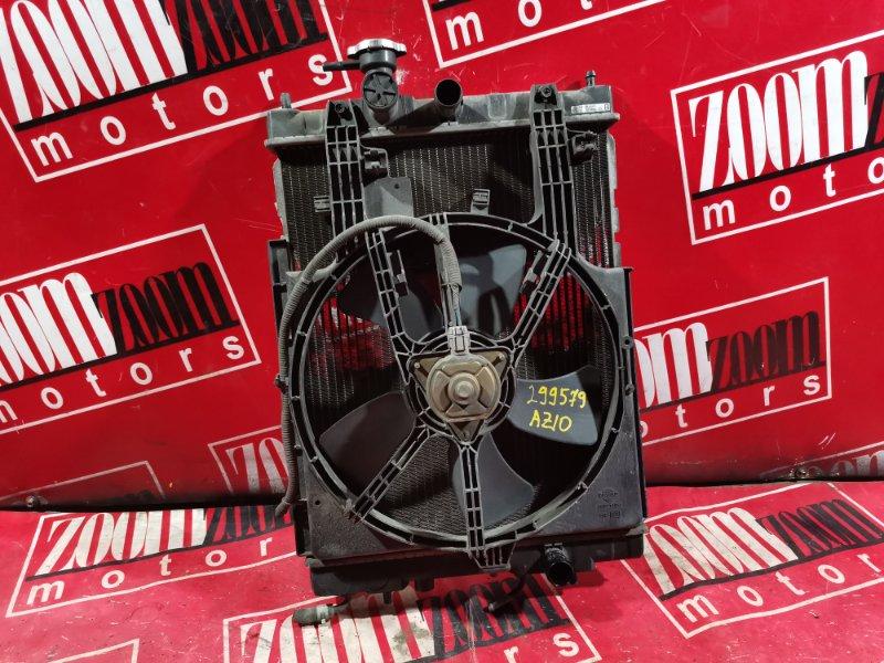 Радиатор двигателя Nissan Cube AZ10 CGA3DE 1998