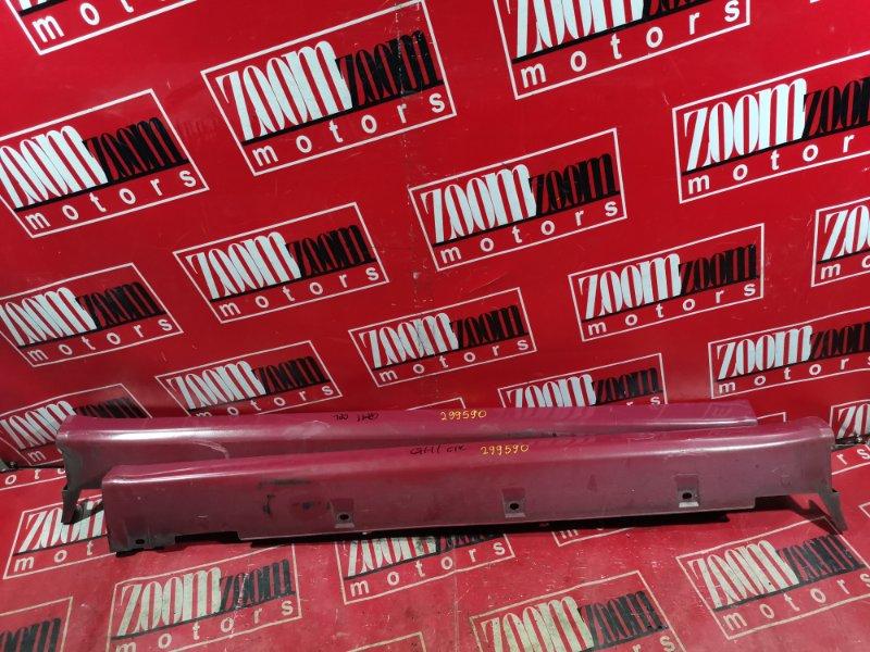 Порог Honda Hr-V GH1 D16A 1998 красный