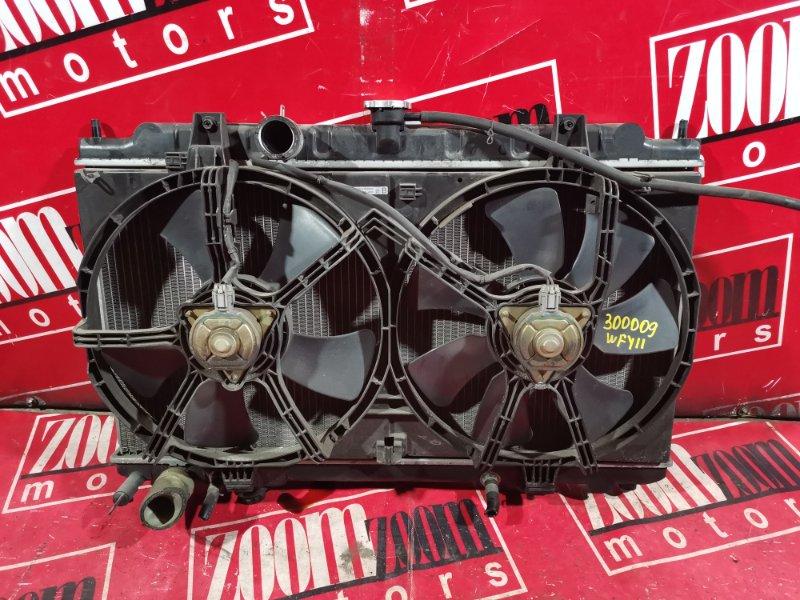 Радиатор двигателя Nissan Wingroad WFY11 QR20DE 2001