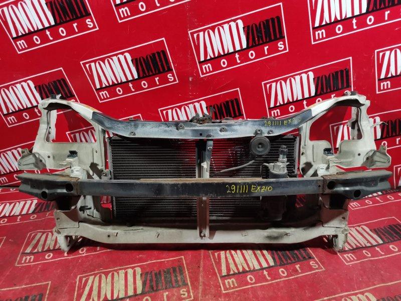 Рамка радиатора Toyota Raum EXZ10 5E-FE 2001 передняя белый перламутр