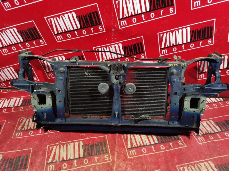 Рамка радиатора Subaru Legacy BH5 EJ20 1998 передняя синий
