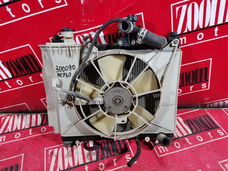 Радиатор двигателя Toyota Ist NCP60 1NZ-FE 2002