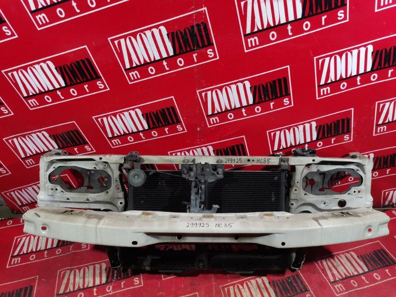 Рамка радиатора Nissan Laurel HC35 RB20DE 1997 передняя белый