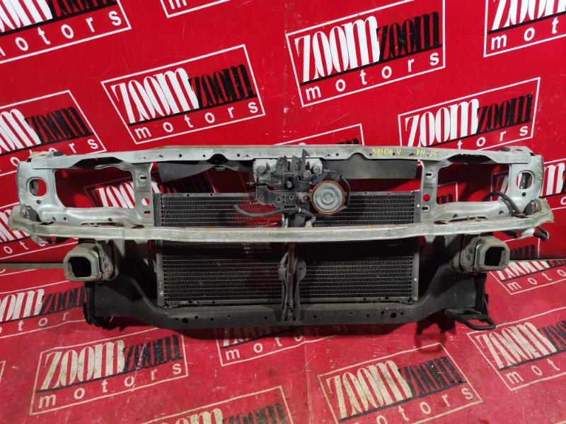 Рамка радиатора Nissan Pulsar FN15 GA15DE 1995 передняя голубой