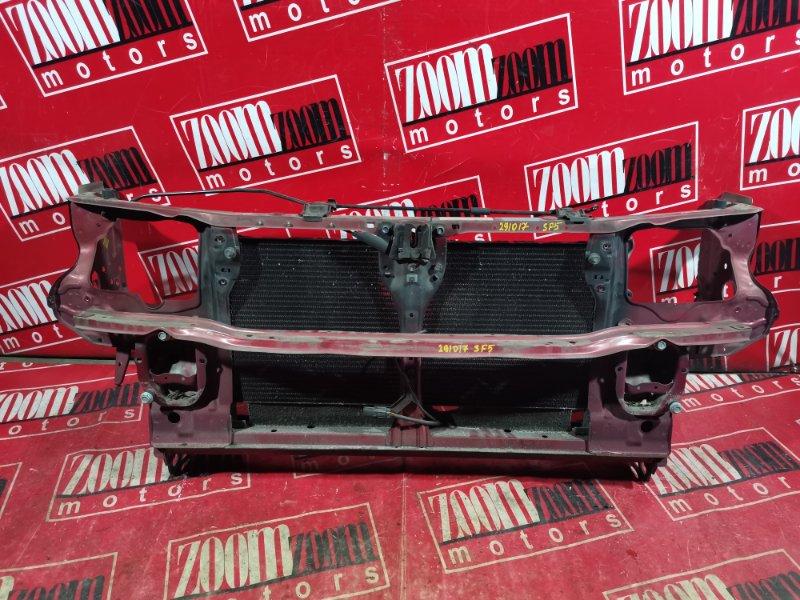 Рамка радиатора Subaru Forester SF5 EJ20 1997 красный