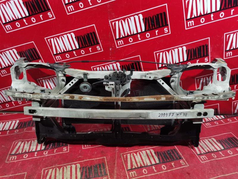 Рамка радиатора Nissan Wingroad WFY11 QG18DE 1999 передняя белый