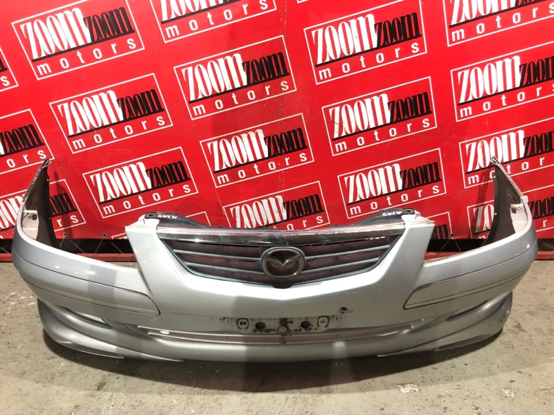 Бампер Mazda Capella GWEW FS-DE 1999 передний серебро