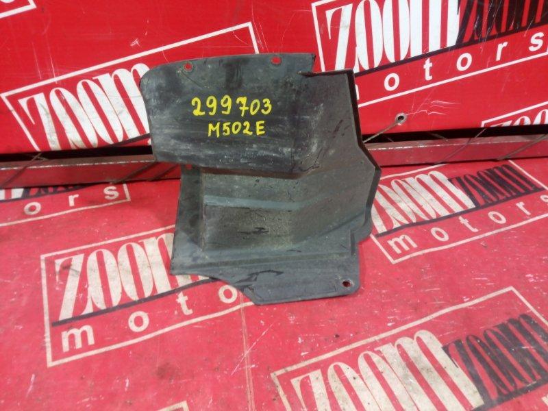 Подкрылок Toyota Passo Sette M502E 3SZ-VE 2008 задний правый