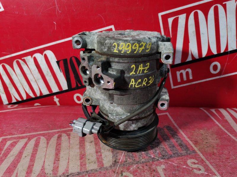 Компрессор кондиционера Toyota Estima ACR30 2AZ-FE 2003