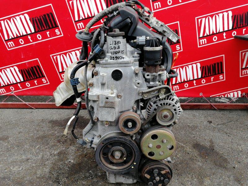 Двигатель Honda Fit Aria GD8 L15A 2002