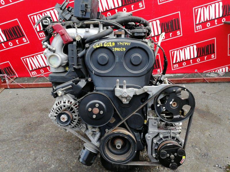 Двигатель Mitsubishi Dingo CQ2A 4G15 1998