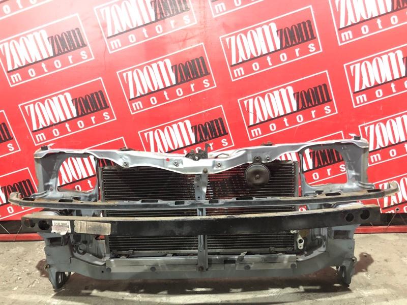 Рамка радиатора Toyota Tercel EL51 4E-FE 1997 передняя голубой