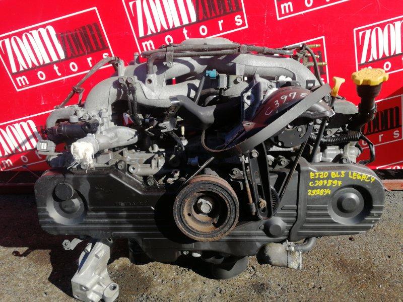 Двигатель Subaru Legacy BL5 EJ20 2003