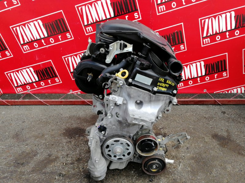 Двигатель Toyota Passo KGC10 1KR-FE 2004