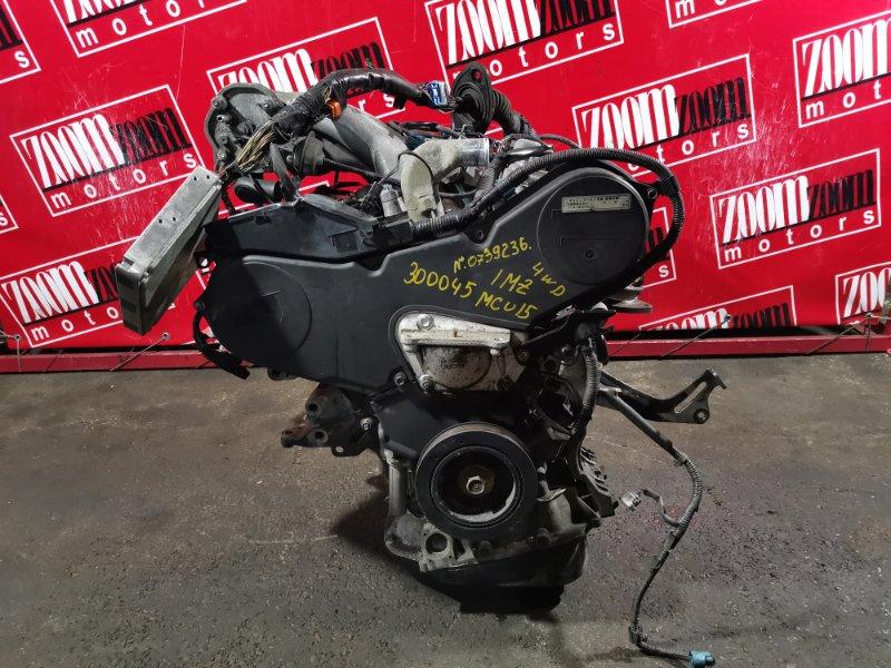 Двигатель Toyota Harrier MCU15 1MZ-FE 1997 0739236