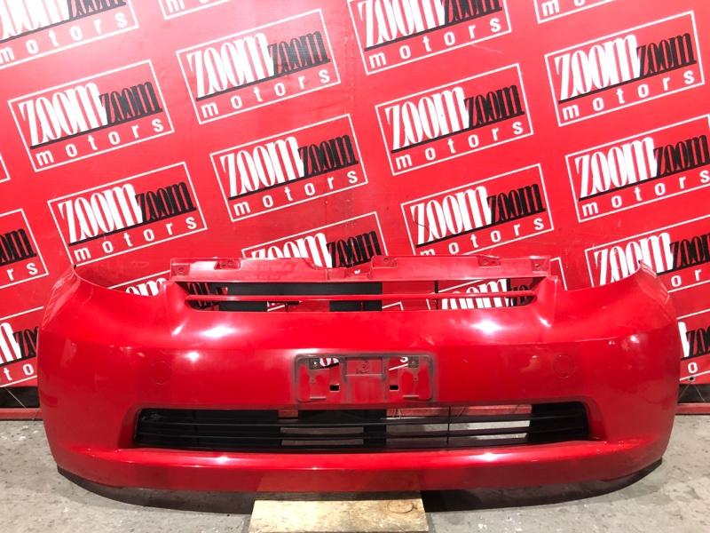 Бампер Toyota Passo QNC10 K3-VE 2004 передний красный