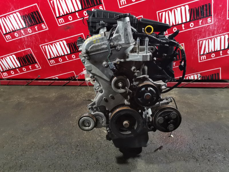 Двигатель Mazda Demio DE3FS ZJ-VE 2007 596245