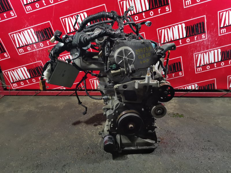 Двигатель Nissan X-Trail NT30 QR20DE `2001 253122A