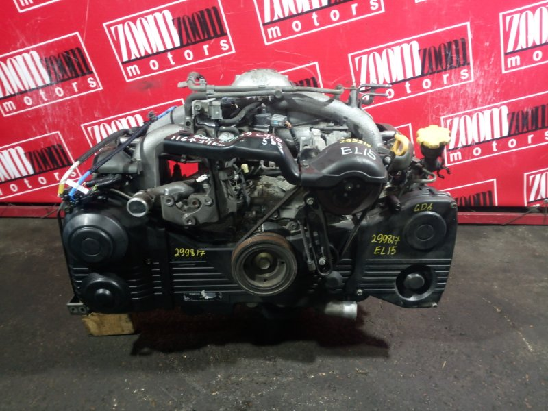 Двигатель Subaru Impreza GD6 EL15 2005 C900555