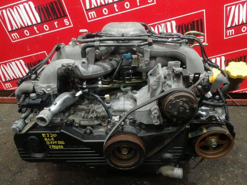 Двигатель Subaru Legacy BP5 EJ20 2003
