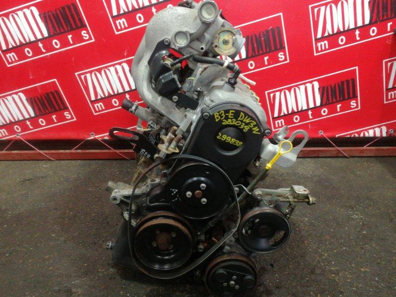 Двигатель Mazda Demio DW3W B3-E 1996