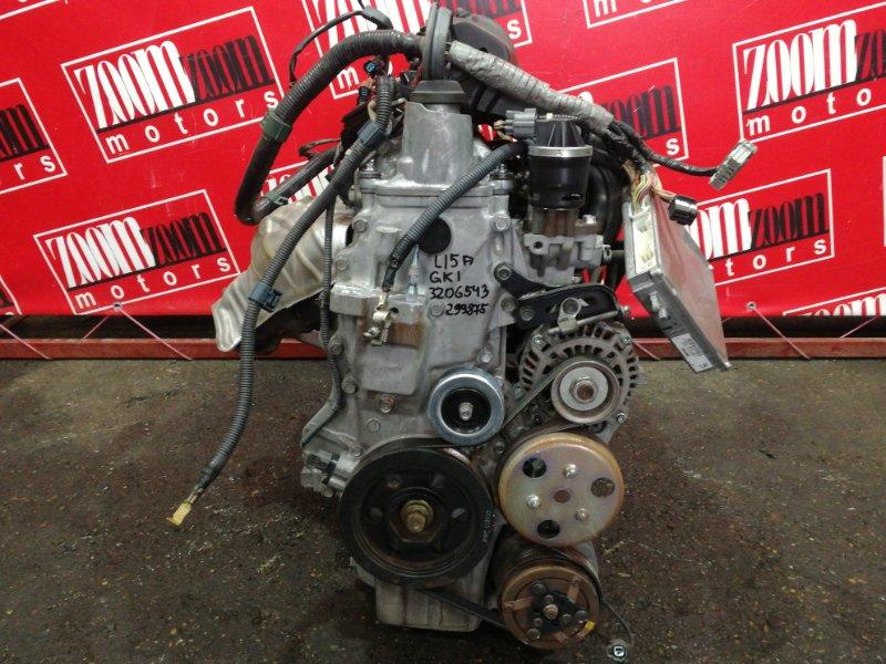 Двигатель Honda Mobilio Spike GK1 L15A 2002