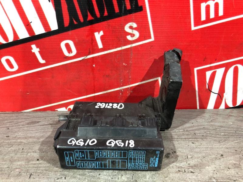 Блок реле и предохранителей Nissan Bluebird Sylphy QG10 QG18DE 2003 передний