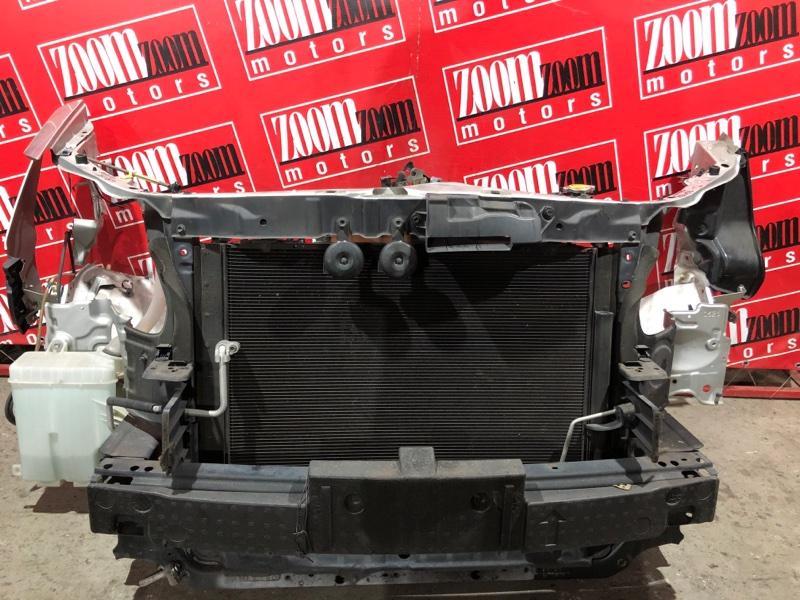 Рамка радиатора Toyota Alphard ANH10 2AZ-FXE 2002 передняя серебро