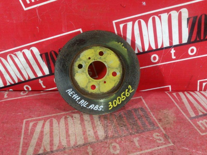 Диск тормозной Toyota Corolla Spacio AE111 4A-FE 1997 передний