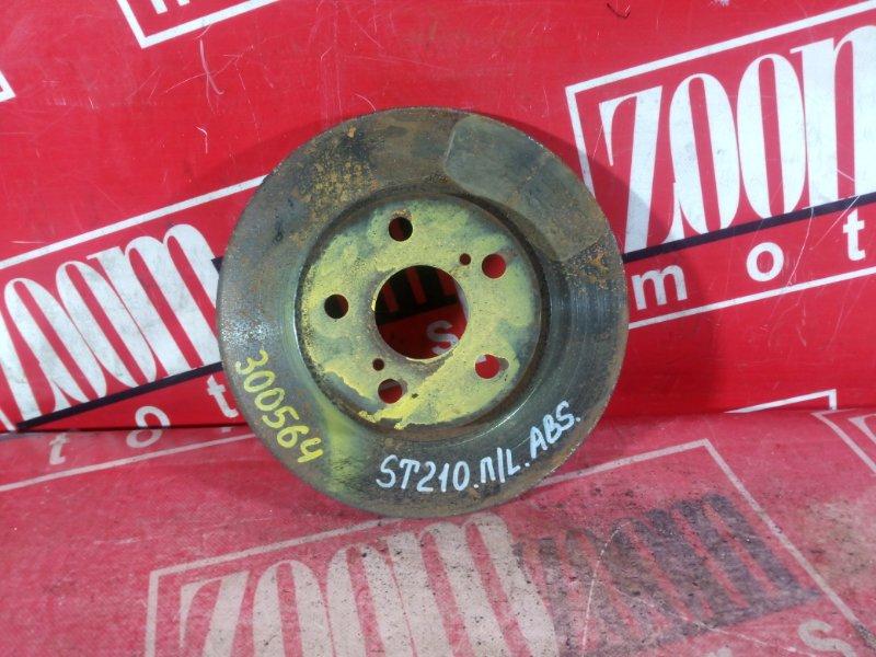 Диск тормозной Toyota Corona Premio ST210 3S-FSE 1996 передний