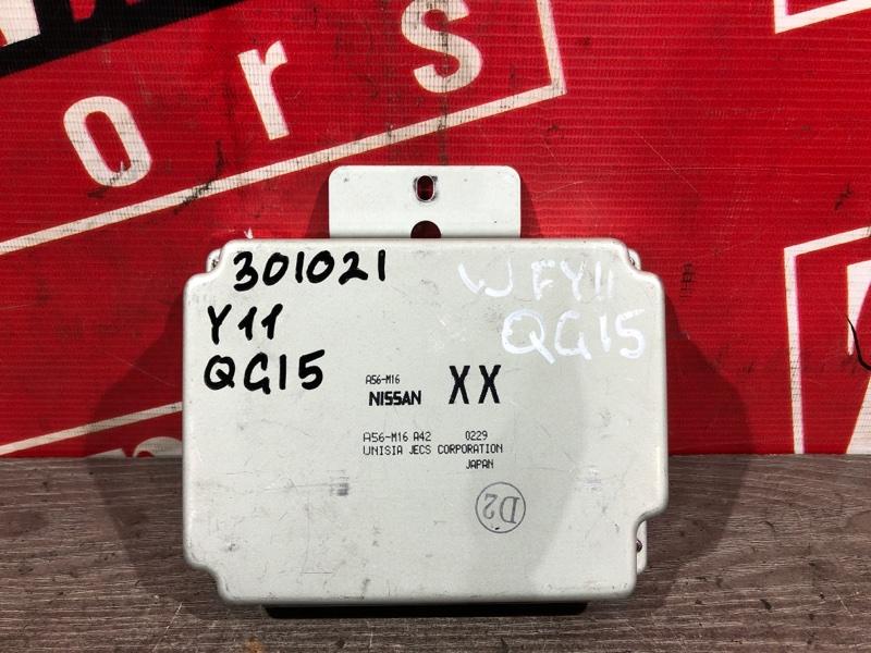 Компьютер (блок управления) Nissan Wingroad WFY11 QG15DE 1998 A56-M16 A42 A56-001 B0013