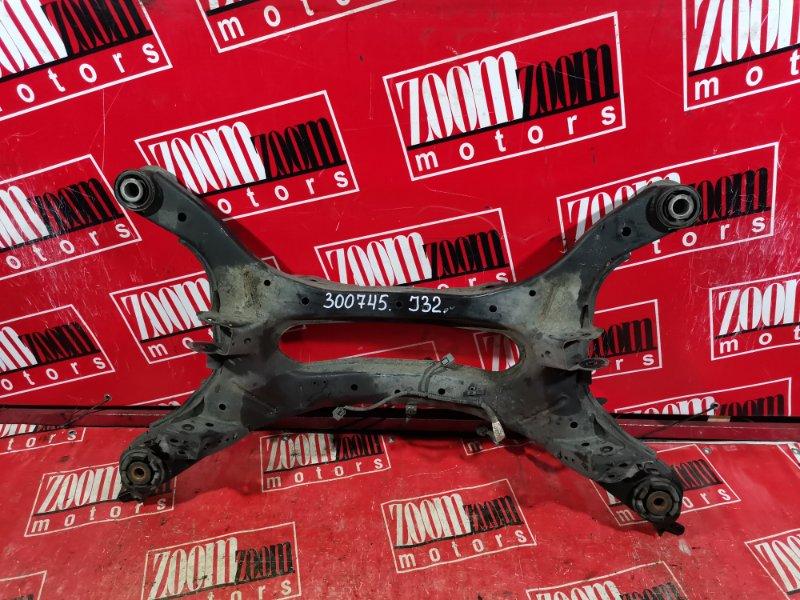 Балка поперечная Nissan Teana J32 VQ25DE 2008 задняя
