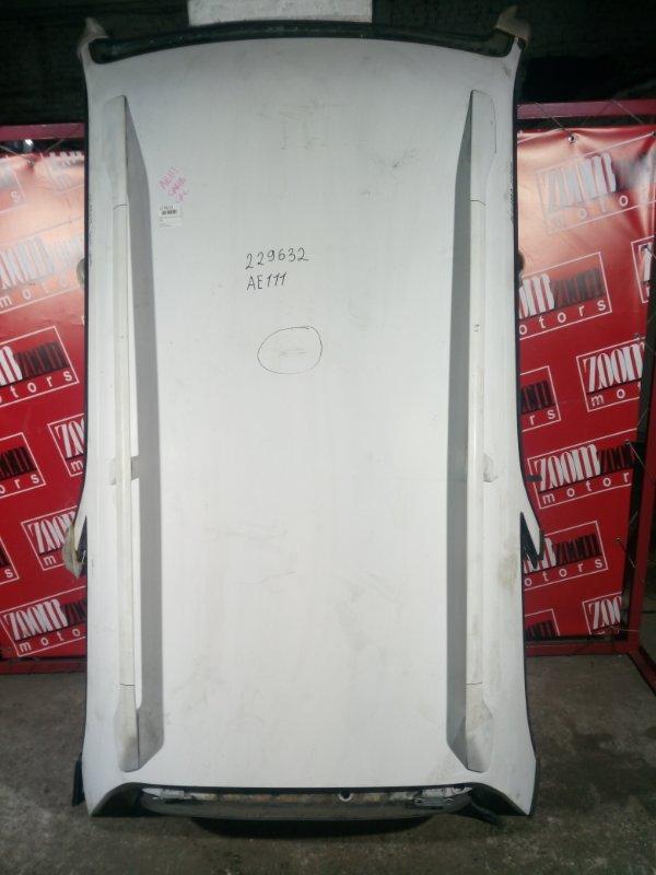 Крыша Toyota Sprinter Carib AE111 4A-FE 2000 белый