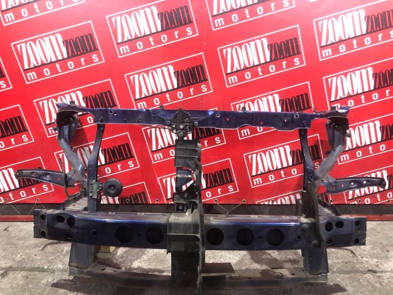 Рамка радиатора Toyota Bb QNC25 K3-VE 2005 передняя синий