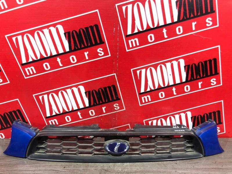 Решетка радиатора Subaru Impreza GG2 EJ15 2000 передняя синий