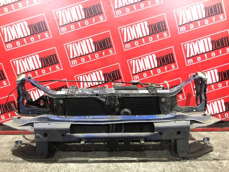 Рамка радиатора Subaru Impreza GG2 EJ15 2000 передняя синий