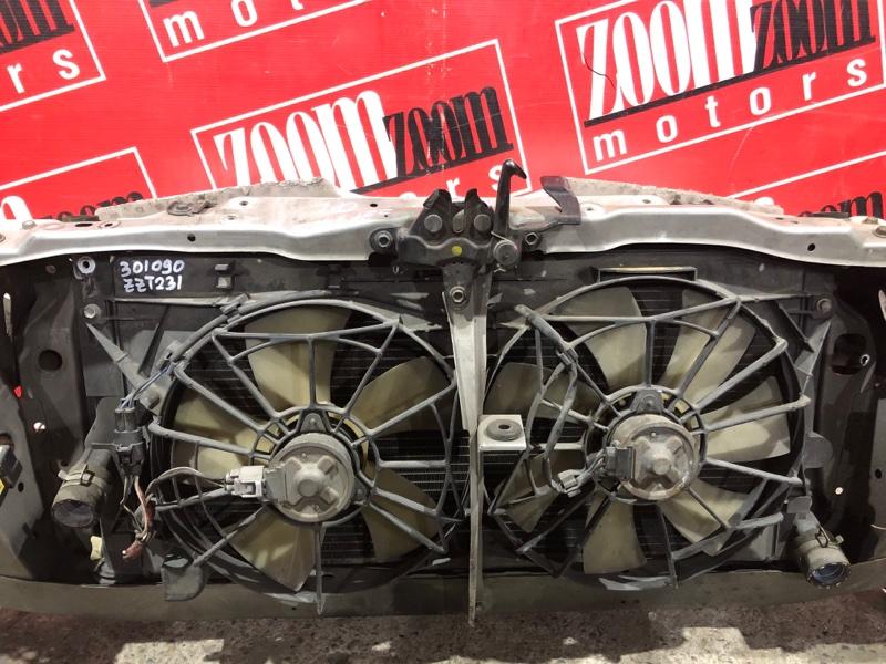 Радиатор двигателя Toyota Celica ZZT231 2ZZ-FE 1999 передний