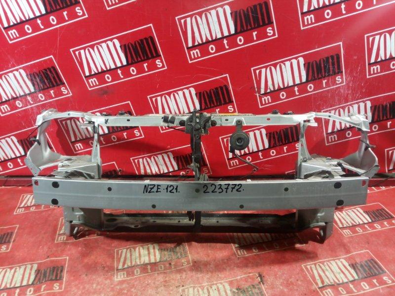 Рамка радиатора Toyota Allex NZE121 1NZ-FE 2002 передняя серебро